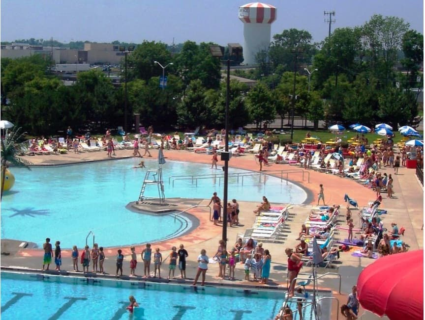 Florence aquatic center pool