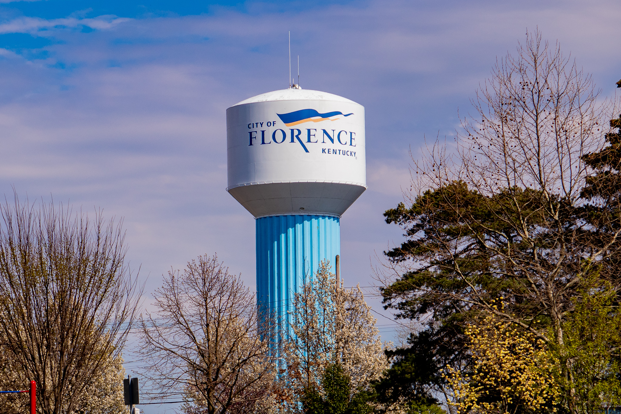 City of Florence Kentucky water tower