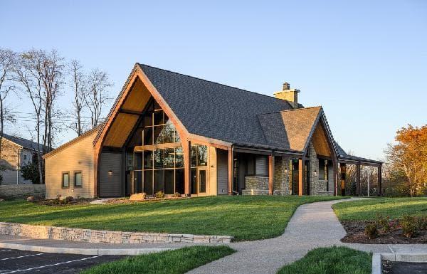 Nature park event center exterior
